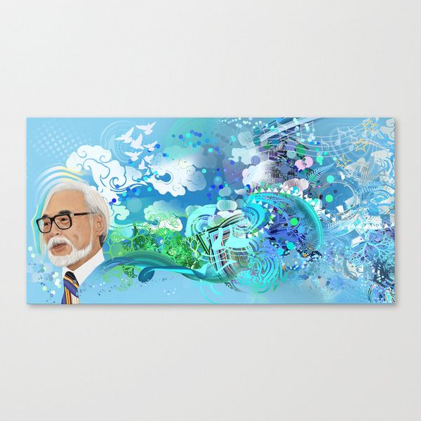 The Creativity of Miyazaki Wall Art | dotandbo.com