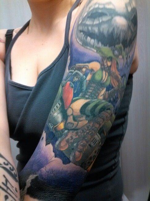 By scott mundy living art tattoo colorado springs