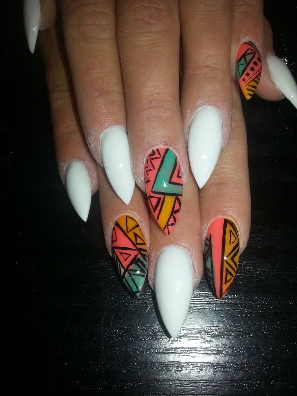 Stiletto nails don't understand, and never will!!!