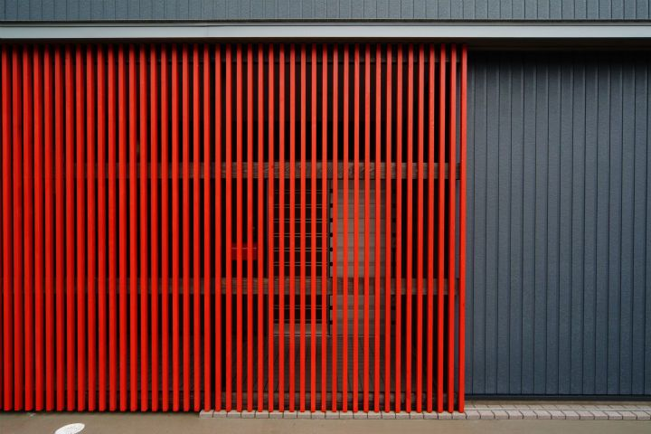新築|赤格子の家 KJ-HOUSE | BGM建築設計