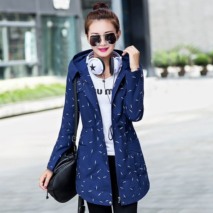 Find More Trench Information about 2015 New Autumn&Winter Trench Coat for Women Turn down Collar Polka Dot  Plus Size Zipper Hood Trench Free Shipping,High Quality trench coat men,China trench coat pattern men Suppliers, Cheap trench coat jacket from Chinese Characteristic Fashion Shop on Aliexpress.com