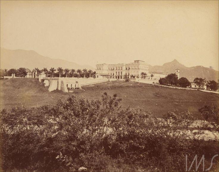 Georges Leuzinger. O Palácio Imperial, c. 1870. São Cristóvão, Rio de Janeiro, RJ / Acervo IMS