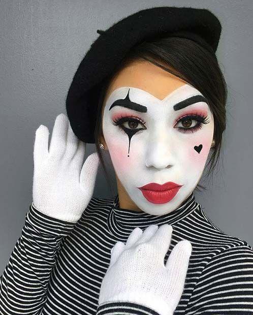 Einfache und kreative Halloween-Make-up-Ideen für Frauen – Pennywise