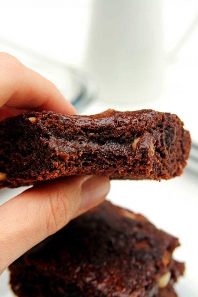 Receita de Brownie Vegano sem glúten, sem soja, sem ovo, sem leite, muito simples e rápido de preparar!
