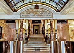 The foyer of University of Westminster campus on Regent Street - Wikipedia, the free encyclopedia