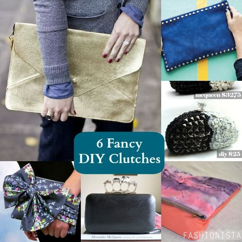 6 Fancy DIY Clutches