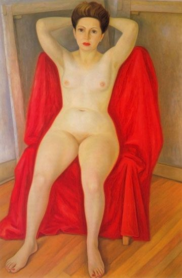 Raúl Anguiano - Desnudo de Pita Amor