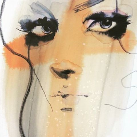 Anna Halarewicz Fashion Illustrations
