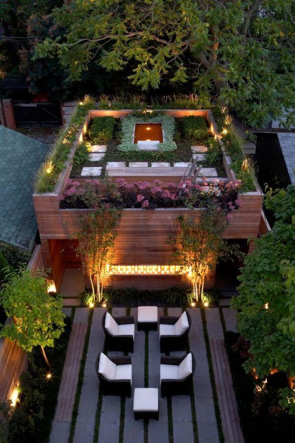 Las 25 mejores ideas sobre techos verdes en pinterest for Jardines pequenos verdes