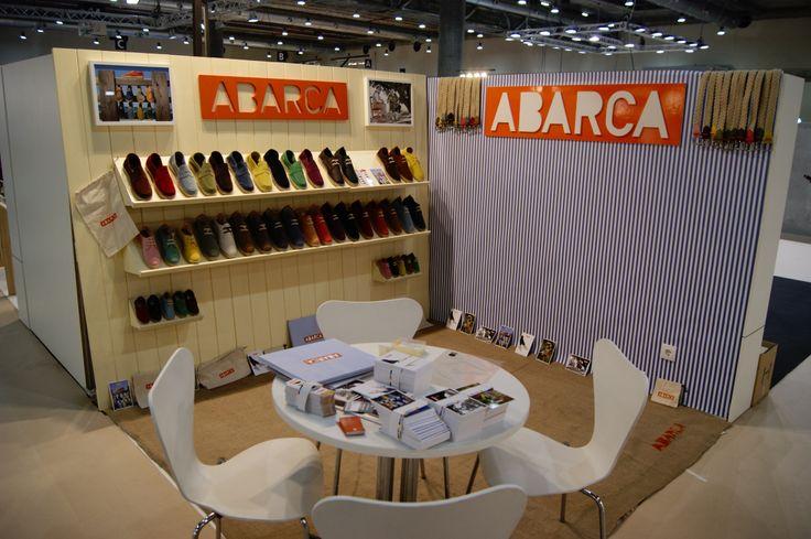 Imagen del stand de Abarca Shoes.