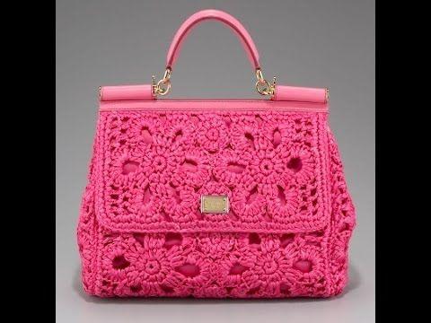Сумка, Связанная Крючком - 2016  Bag crocheted  Tasche gehkelt