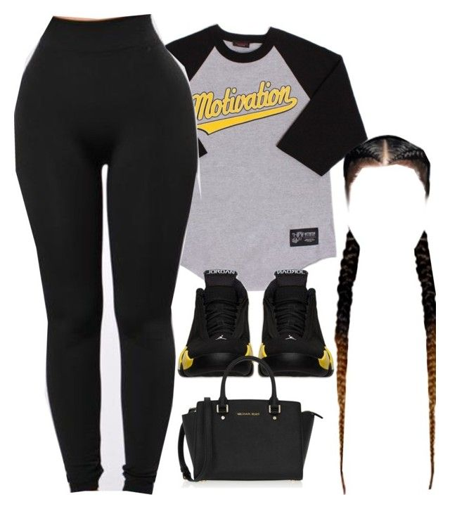 """chillin"" by tierrat ❤ liked on Polyvore featuring Retrò and MICHAEL Michael Kors"