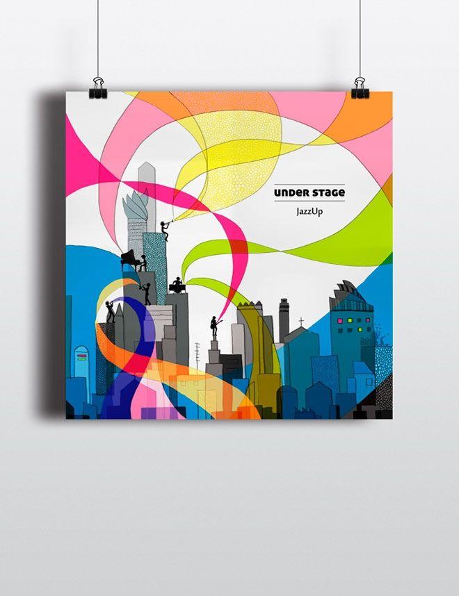 Under stage | CD cover | Marta Dudek