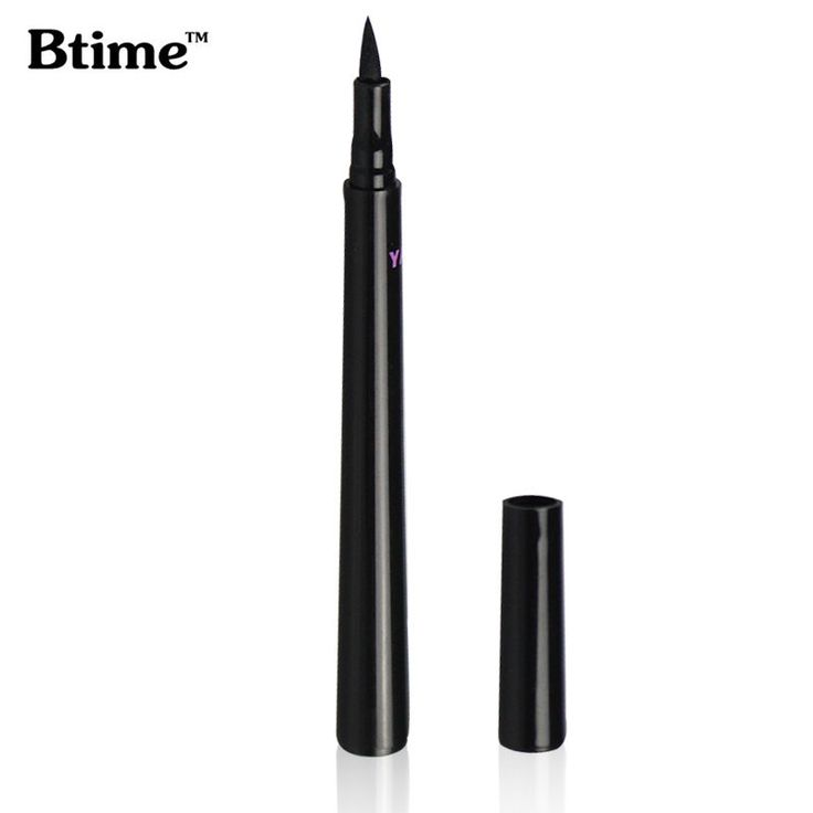 Waterproof Hitam Cair Eyeliner Makeup Kecantikan Kosmetik Eye Liner Pen Make Up Eyeliner
