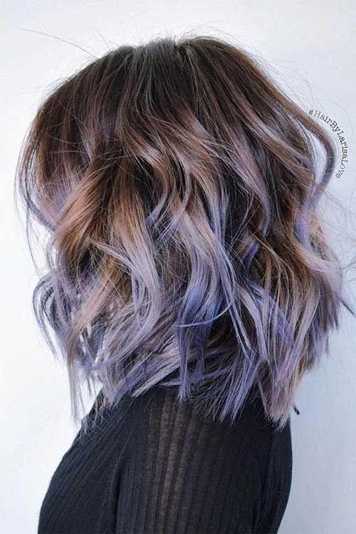 11.Short Wavy Hairstyles