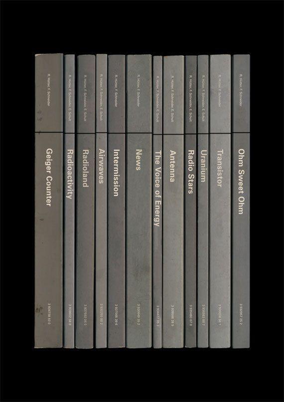 Kraftwerk 'RadioActivity' Album As Books Poster by StandardDesigns, £12.50