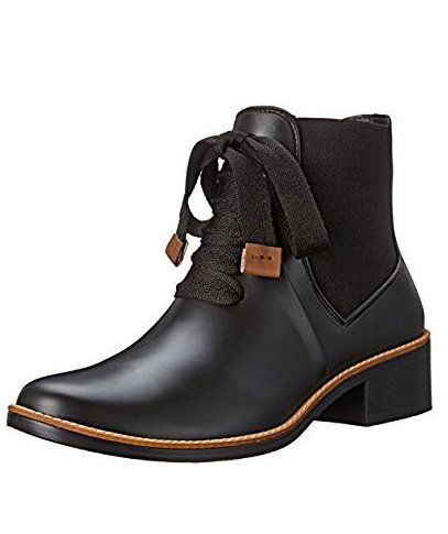 Just because the weather is bad doesn't mean your footwear has to be. Rain boots have come a long way from the days of heavy, poorly-fitting galoshes available only in muddy brown or green rubber. You don't have to worry about changing your shoes once you get to the office or inside, you can wear these new, stylish versions all day long (and even into the night).