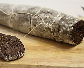 Salame di cioccolato morbidissimo - Ricetta senza uova e burro