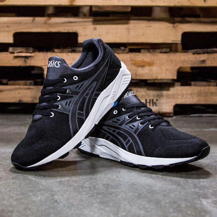 Asics Gel-Kayano Trainer Evo: Black
