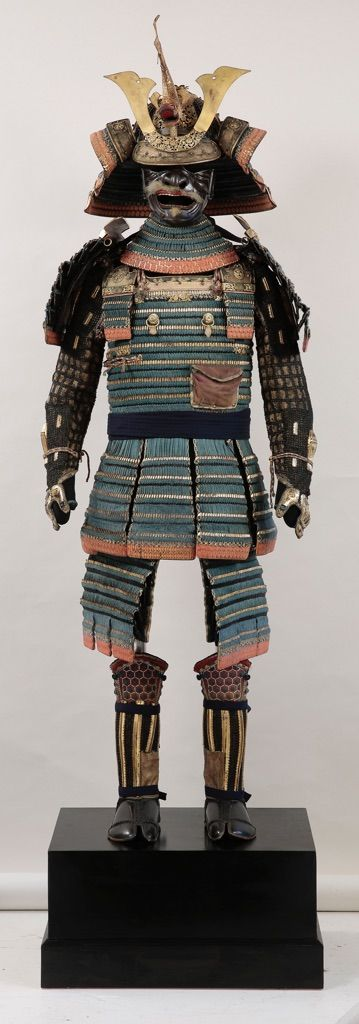 Kebiki asagi odoshi hon-kozane do-maru, fine del XV sec.-primo quarto del XVIII sec. - Torino, Musei Reali, Armeria Reale - photo Paolo Robino