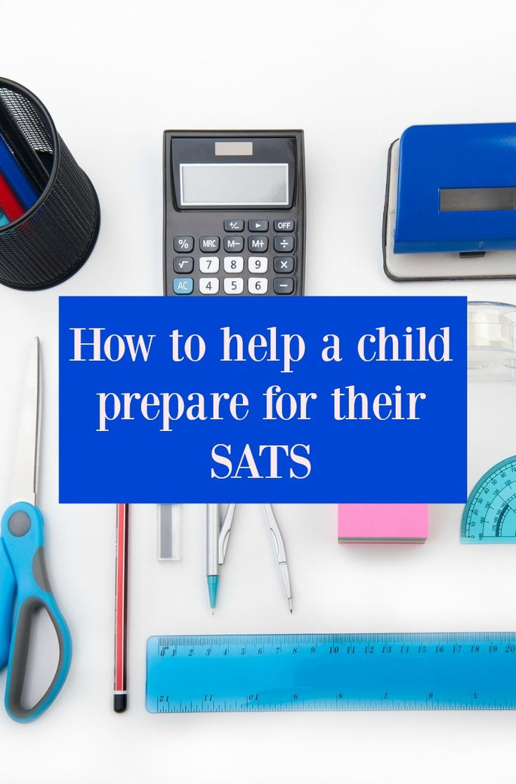 How to help a child prepare for their SATS -  really helathy study tips designed to support not stress your child