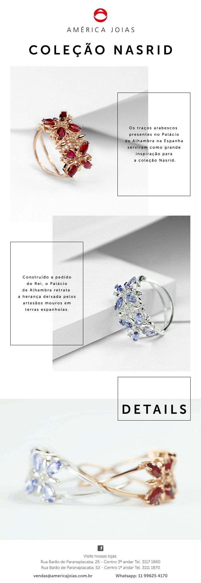 Email Marketing Jewelry #email #marketing #joias #jewelry #layout #design #nasrid #e-mailmarketing