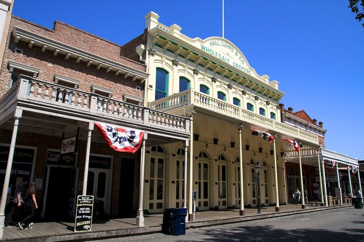 Old Town Sacramento What S Restaurants Museums To Visit