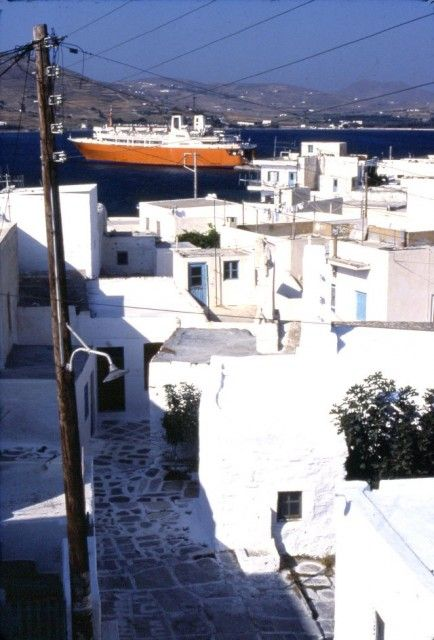 Naxos berthed@Paroikia in 1982 - Naxos - Gallery - Shipfriends