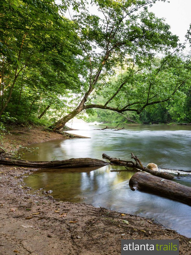 Top hikes in Atlanta: explore an island on the Chattahoochee River on the Powers Island Trail
