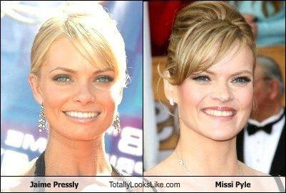 Jaime Pressly totally looks like Missi Pyle