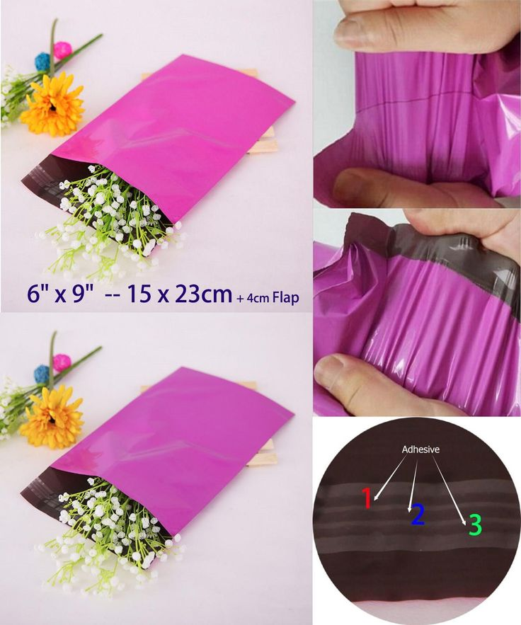 "[Visit to Buy] 200pcs/pack 6"" x 9"" Premium Purple Small Shipping Envelopes Bag 15x23cm Plastic Mailing Bags Poly mailer Self Sealing Packaging #Advertisement"