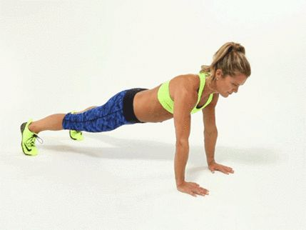 For the Superman plank, walk each hand out in front of you and return to the starting position 10 times.