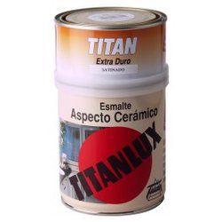 Esmalte aspecto Cerámico Titan #esmalteceramico #pinturasesmaltes