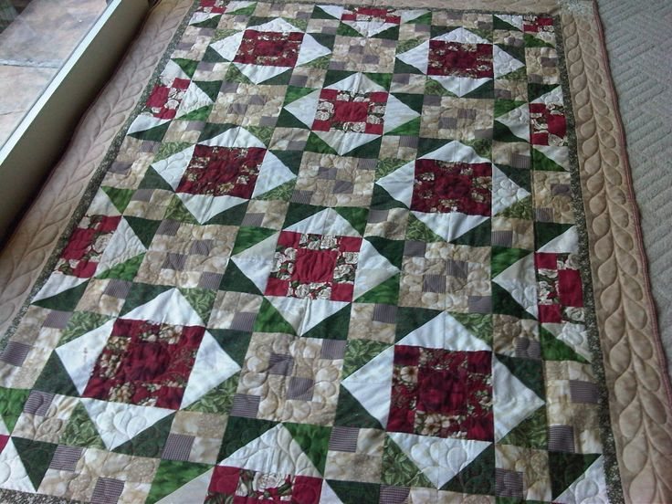 Same design as Mystery QUilt but different boarder