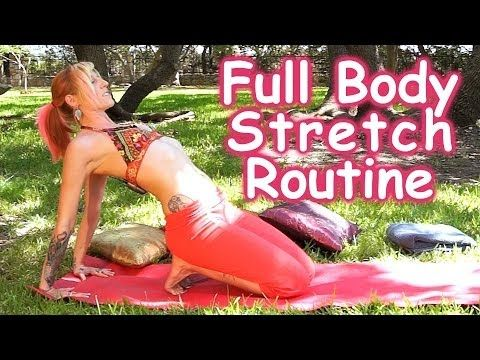 20 Minute Full Body Stretching Routine for Flexibility & Pain Relief, How to Stretch, Beginners Yoga