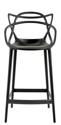 Chaise de bar masters h 65 cm polypropyl ne chaises design et chaises - Tabouret de bar starck ...