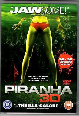#Piranha 3-d and 2-d (two disc set) dvd pal #region 2,  View more on the LINK: 	http://www.zeppy.io/product/gb/2/232111846498/