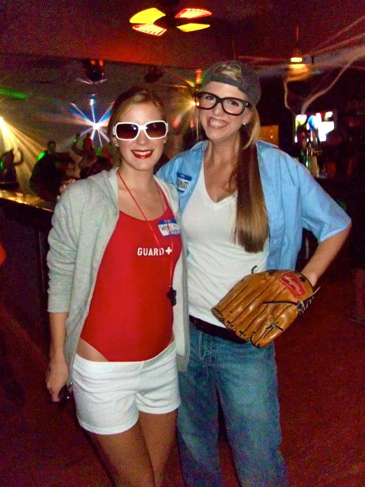 Wendy Peffercorn and Squints from The Sandlot. Best couple costume combo EVER!!