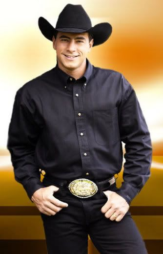 Adriano Moraes, a bull rider, now retired.