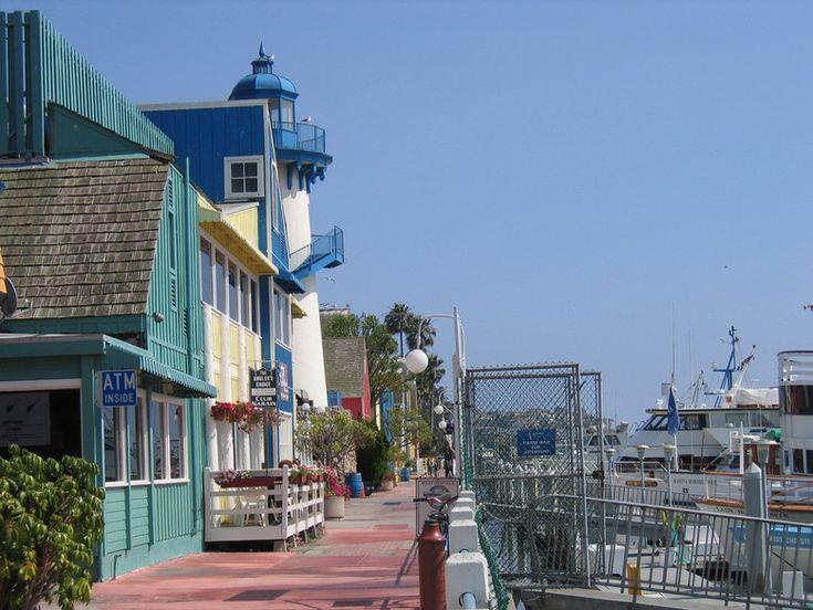 Marina Del Rey's famous Fisherman's Village.