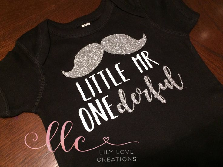 First Birthday Boy Bodysuit 1st Birthday Shirt One