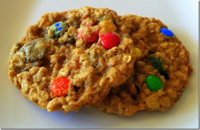Ann Romney's M Cookies with Peanut Butter & Oats
