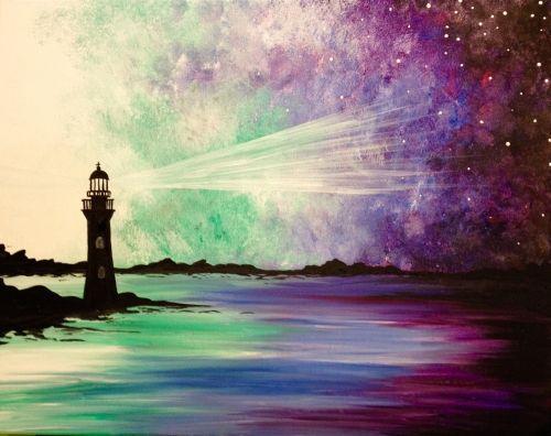 Paint Nite Events Near Highland Park NJ 08904 United States Simple PaintingsNature PaintingsBeach