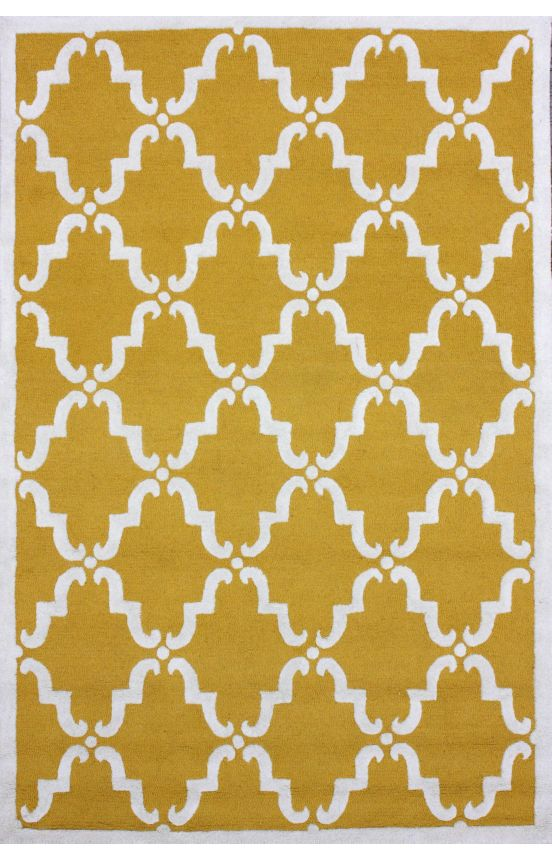 For the Colorful: Rugs USA Tuscan Trellis Gold Rug