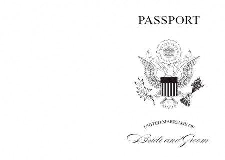 17 Best ideas about Passport Invitations on Pinterest | Passport ...