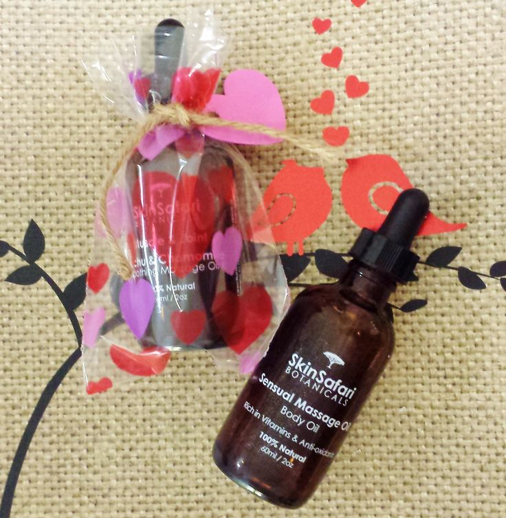 Couples Sensual Aromatherapy Massage Oil, romantic, relaxing, delicate, by Skin Safari Botanicals