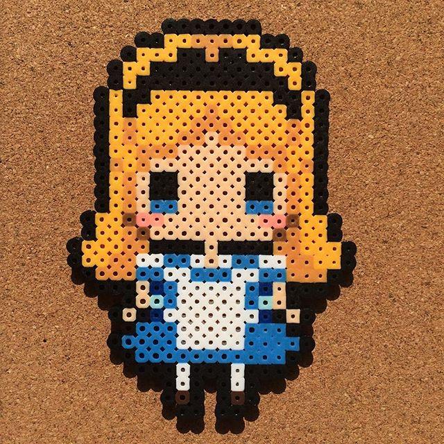 #8bit#8bitart#art#artwork#beads#cool#crafts#cute#freehand#fun#fusebeads#hamabeads#handmade#happy#instagood#iphonesia#kawaii#love#nabbibeads#perlerbeads#photo#pixel#pixelart#アイロンビーズ#ドット絵#パーラービーズ#拼豆#Anime#Disney#Princess