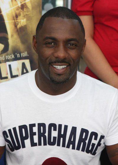 Idris Elba. ..too cute