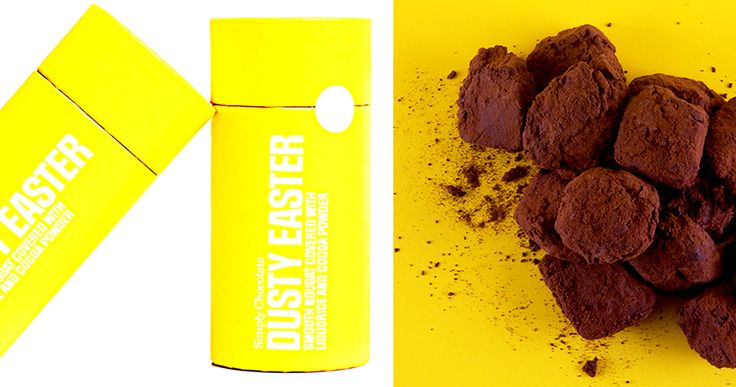 @simplychocolate #DustyEaster #Chocolate #Easter #Packaging #Design