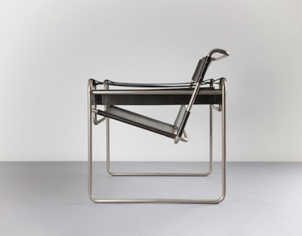 Marcel Breuer: Early Wassily Chair (no. B3), 1927
